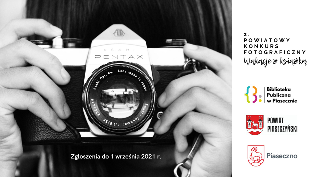 Konkurs fotograficzny Wakacje z książką