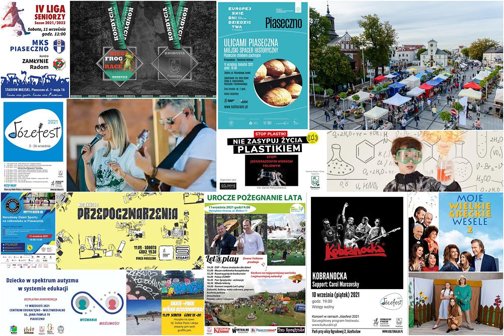 Spędź aktywnie weekend w Piasecznie 10-12 września 2021