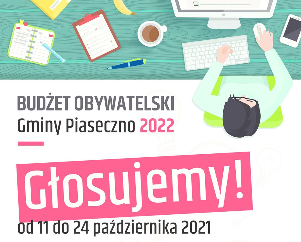 Budżet Obywatelski Gminy Piaseczno 2022 rok
